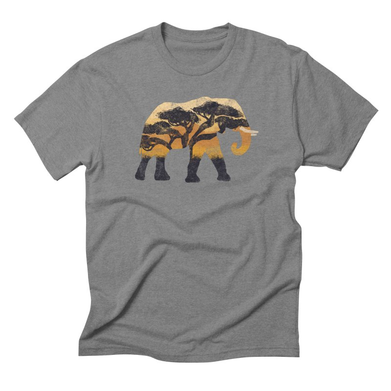 Safari Men's Triblend T-Shirt by AtomicChild Design