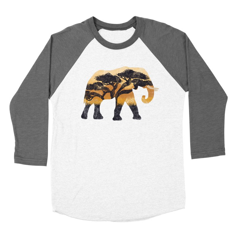 Safari Women's Baseball Triblend Longsleeve T-Shirt by AtomicChild Design