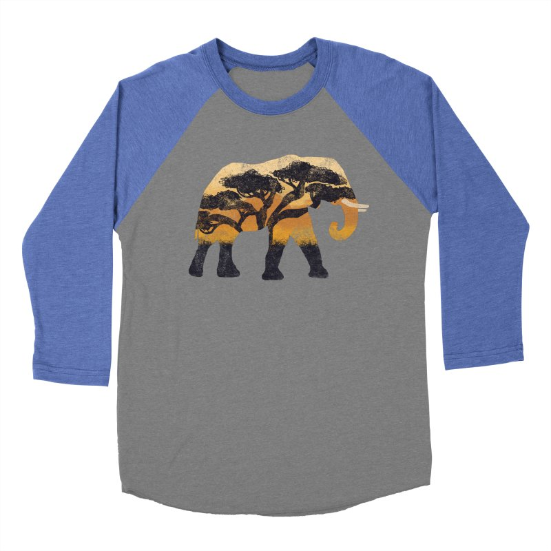 Safari Men's Baseball Triblend Longsleeve T-Shirt by AtomicChild Design