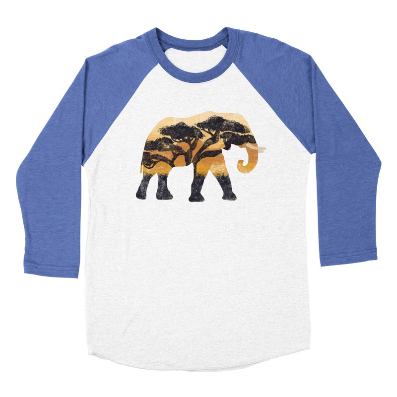 Safari Men's Baseball Triblend T-Shirt by AtomicChild Design