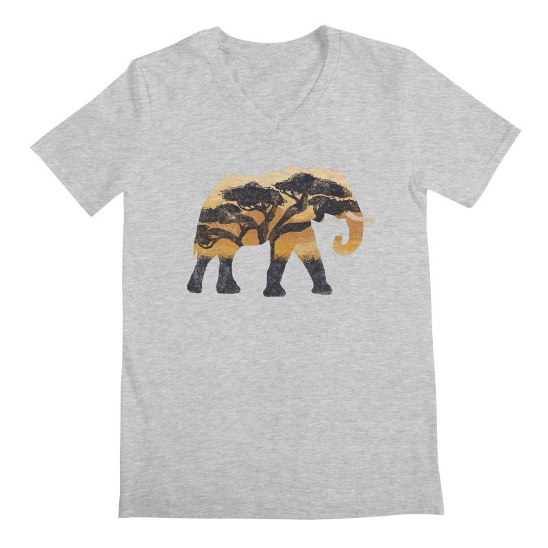 Safari Men's V-Neck by AtomicChild Design
