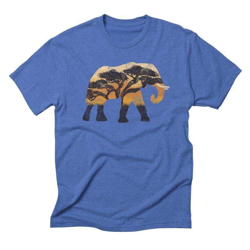 Safari Men's Triblend T-shirt by AtomicChild Design