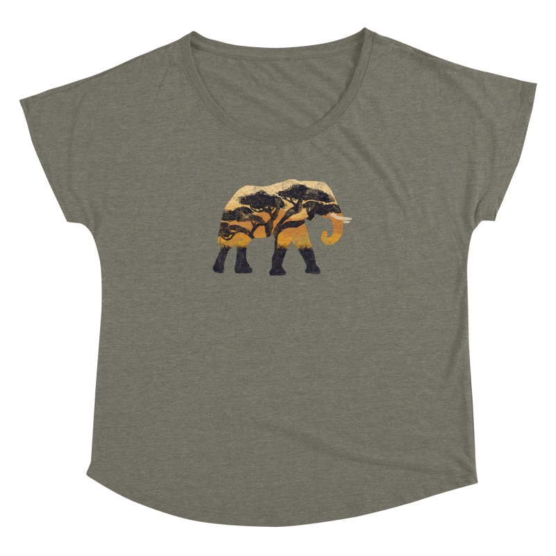 Safari Women's Dolman by AtomicChild Design