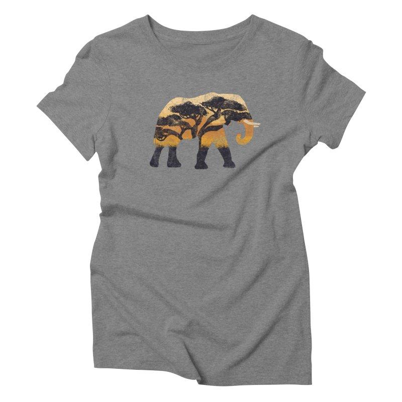Safari Women's Triblend T-Shirt by AtomicChild Design