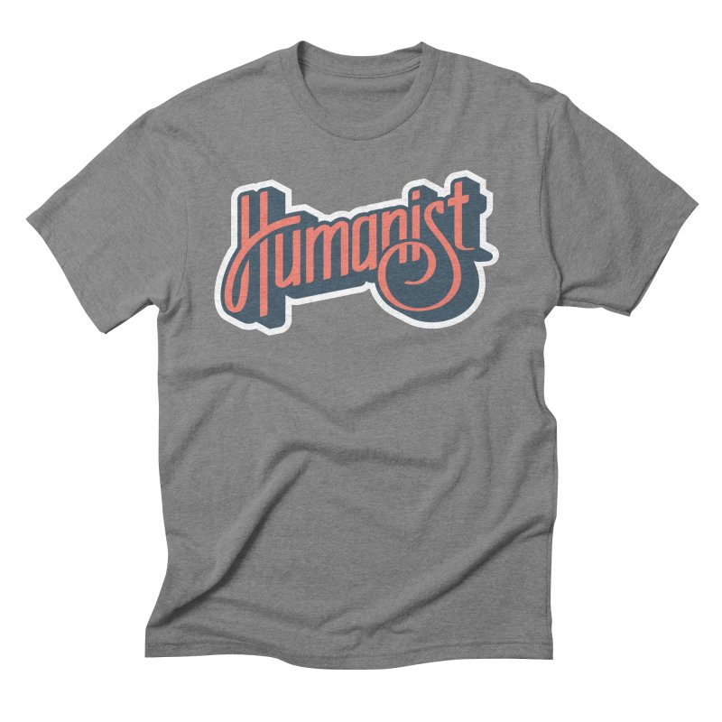 Humanist Men's T-Shirt by Atomic Lotus Apparel