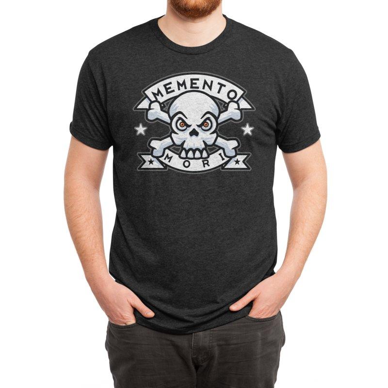 Memento Mori v2 Color Men's T-Shirt by Atomic Lotus Apparel