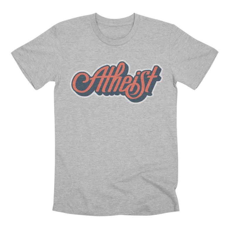 Atheist Men's T-Shirt by Atomic Lotus Apparel