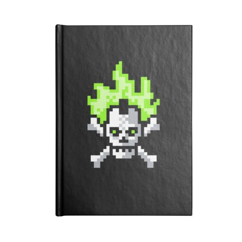 image for Green Flaming Skull