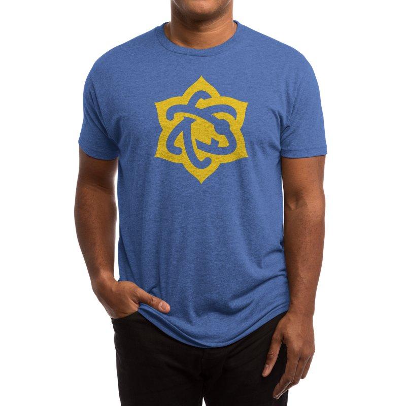 Atomic Lotus Men's T-Shirt by Atomic Lotus Apparel