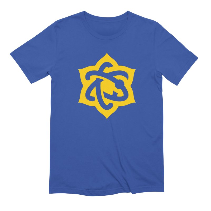 Atomic Lotus Men's T-Shirt by Atomic Lotus Apparel