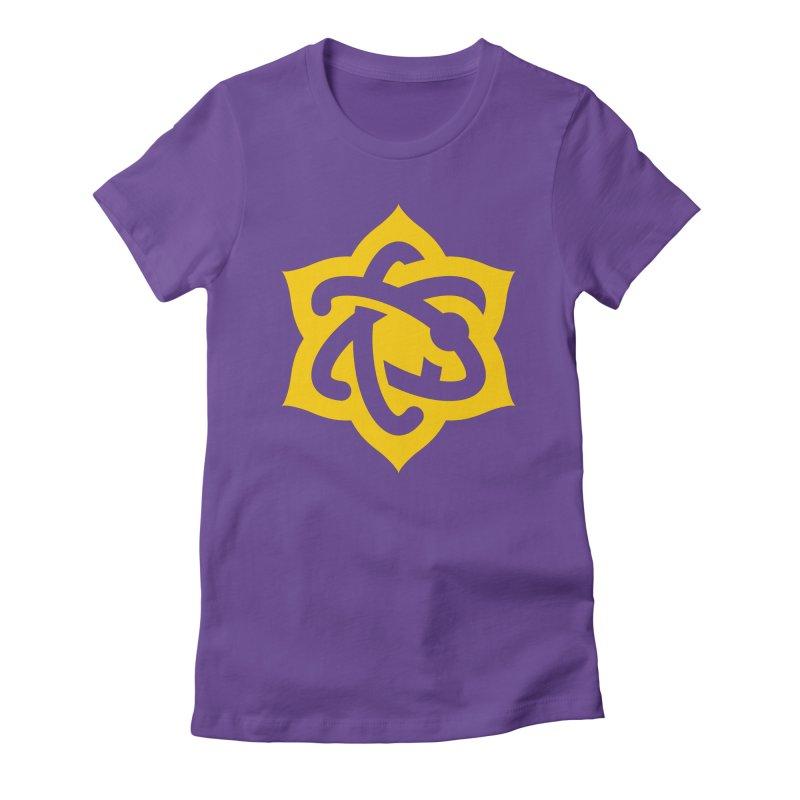 Atomic Lotus Women's T-Shirt by Atomic Lotus Apparel