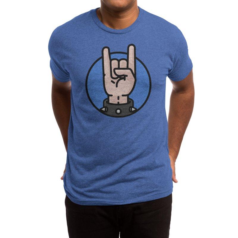 Rock On Dude Men's T-Shirt by Atomic Lotus Apparel