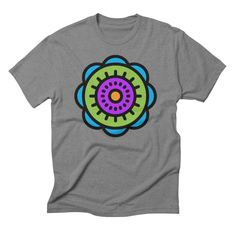 Kaleidoscope Men's T-Shirt by Atomic Lotus Apparel