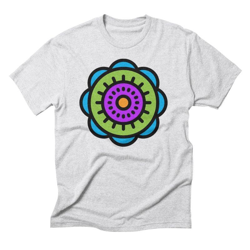 Kaleidoscope Men's T-Shirt by Atomic Lotus Apparel