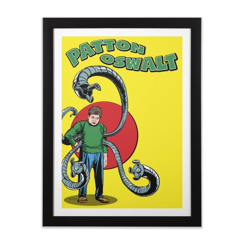 Patton Doc Oc Home Framed Fine Art Print by atomicpopmonkey's Artist Shop