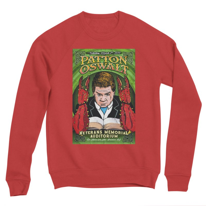 Patton Oswalt - Lovecraft Poster Men's Sweatshirt by atomicpopmonkey's Artist Shop