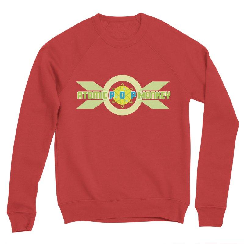 Atomic Retro Pop Monkey Men's Sweatshirt by atomicpopmonkey's Artist Shop
