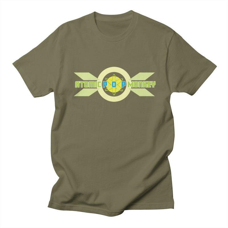 Atomic Retro Pop Monkey Men's T-Shirt by atomicpopmonkey's Artist Shop