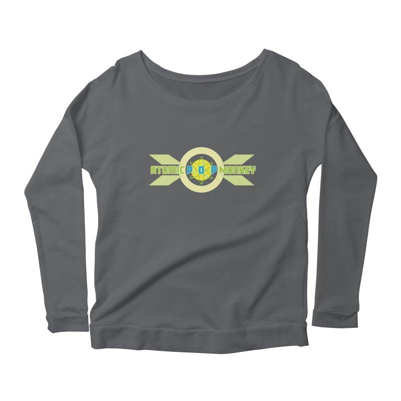 Atomic Retro Pop Monkey Women's Longsleeve T-Shirt by atomicpopmonkey's Artist Shop