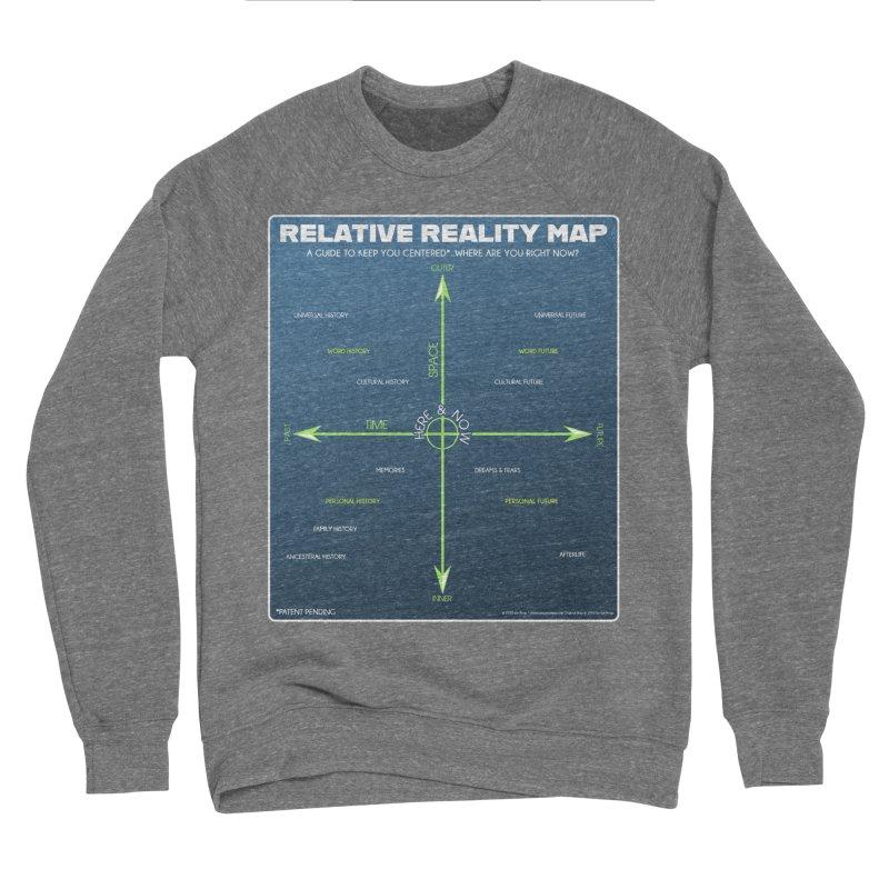 Relative Reality Map Men's Sweatshirt by atomicpopmonkey's Artist Shop