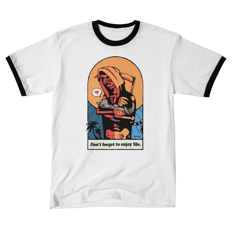 Don't Forget to Enjoy Life Men's T-Shirt by Attention®