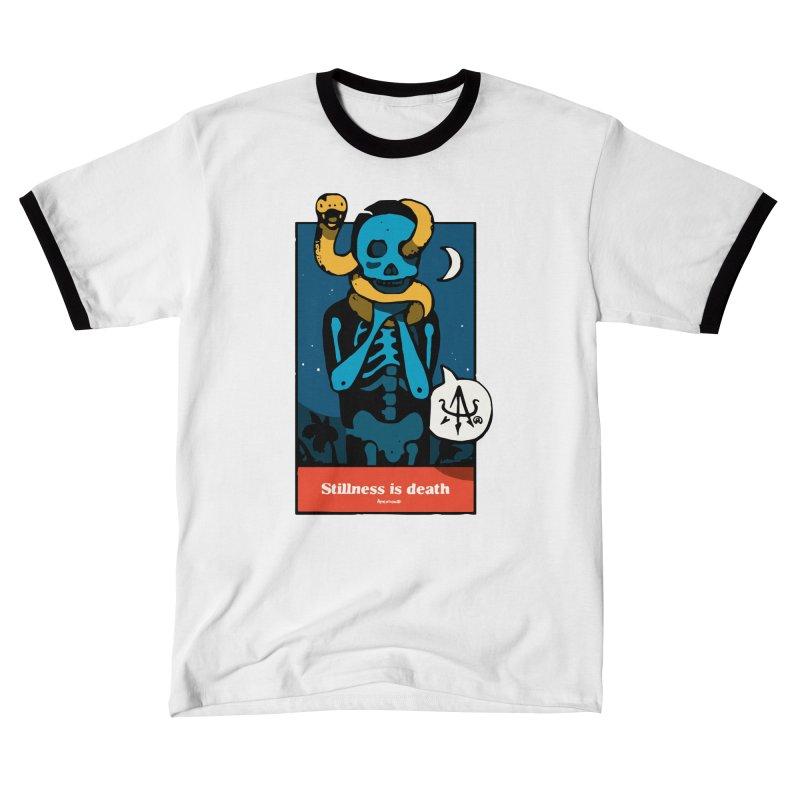 Stillness is Death Men's T-Shirt by Attention®