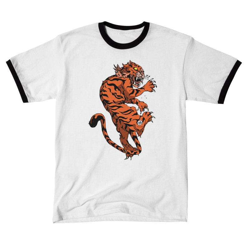 Tiger Men's T-Shirt by Attention®