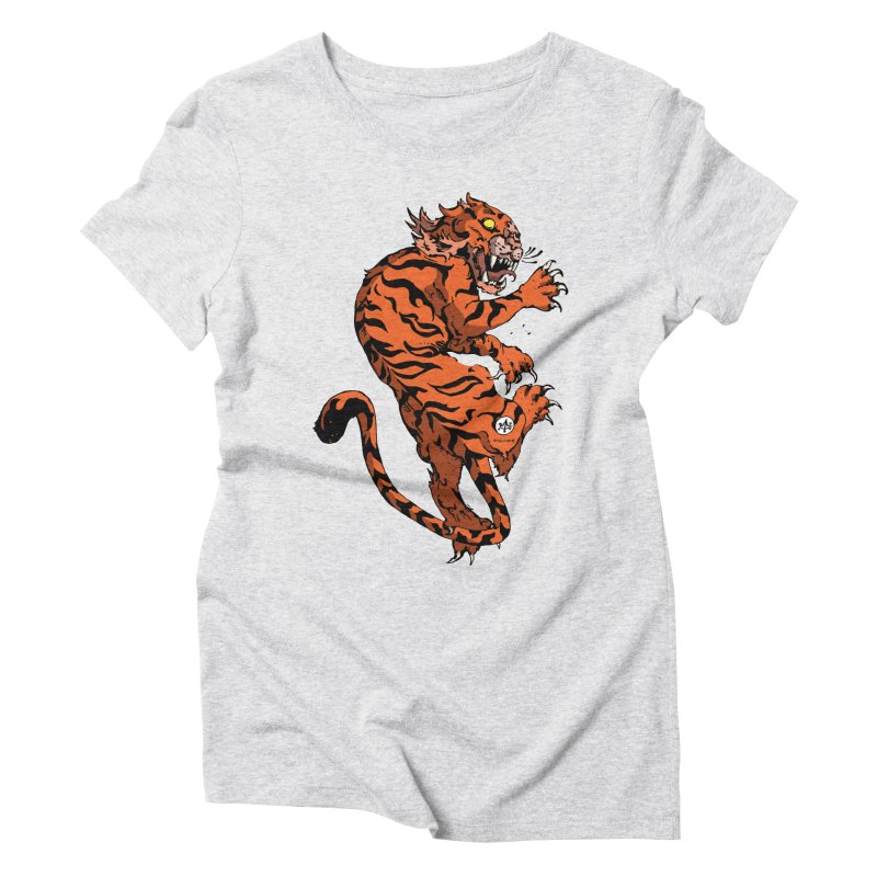 Tiger Women's T-Shirt by Attention®