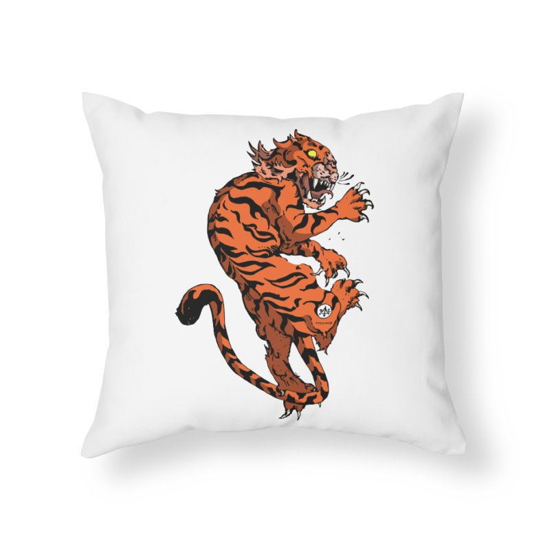 Tiger Home Throw Pillow by Attention®