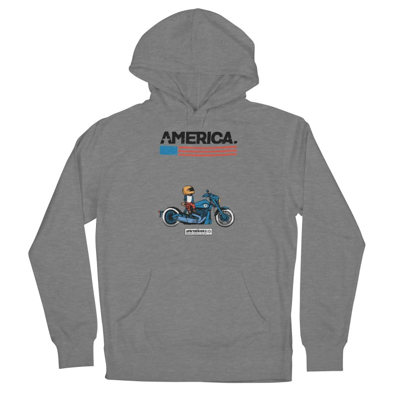 American Motorcycle Women's Pullover Hoody by Attention®