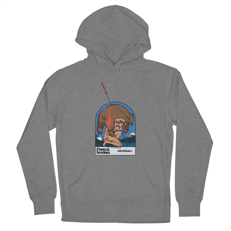 Bear Hunter Women's Pullover Hoody by Attention®