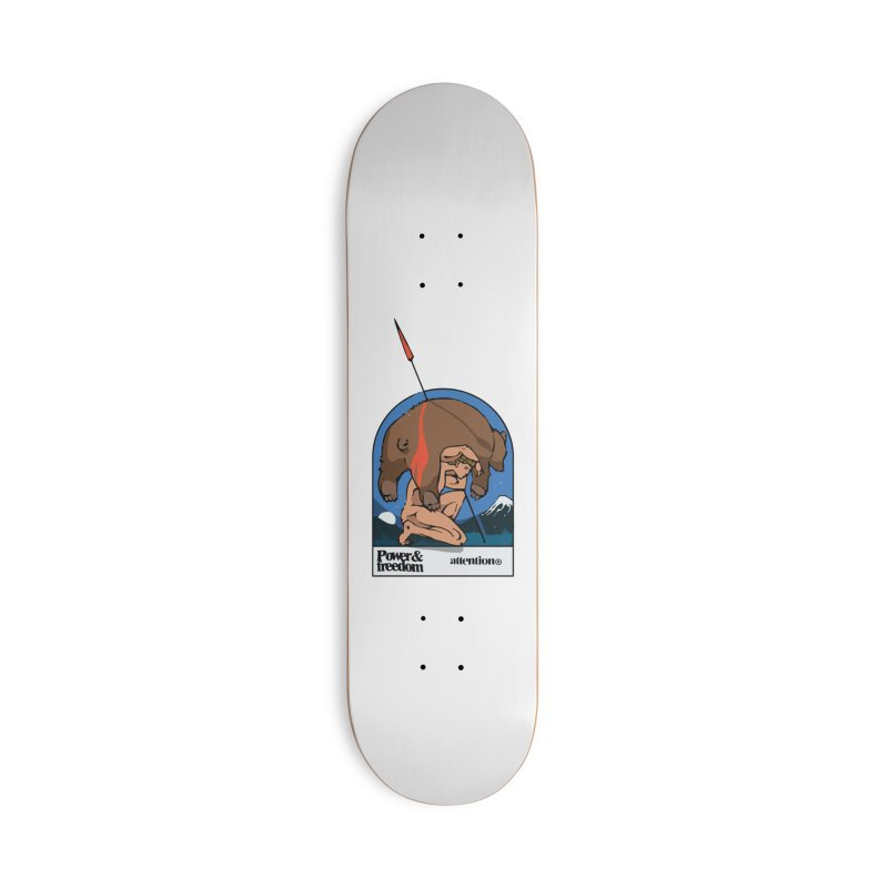 Bear Hunter Accessories Skateboard by Attention®