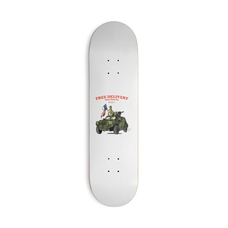 Texas Pizza Co. Accessories Skateboard by Attention®