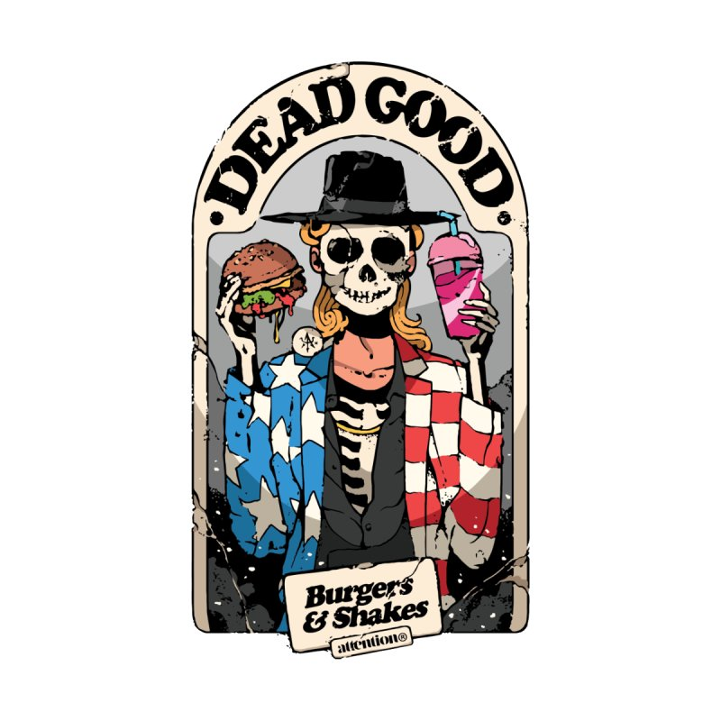 Dead Good Accessories Skateboard by Attention®
