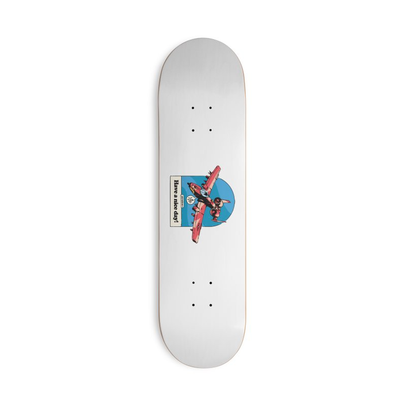 Have a nice day! 2 Accessories Skateboard by Attention®