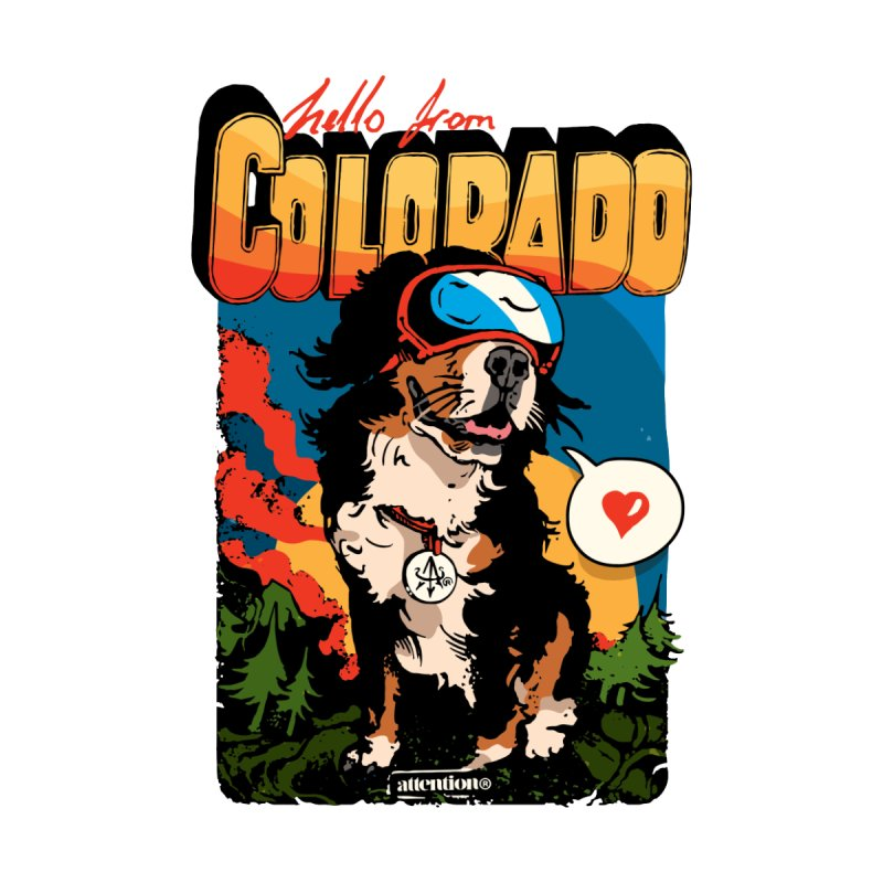 Colorado doggo Men's T-Shirt by Attention®