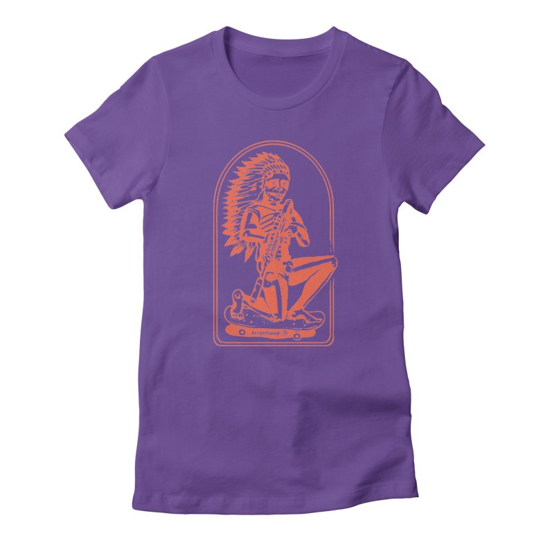 Skater Chief 2 Women's T-Shirt by Attention®