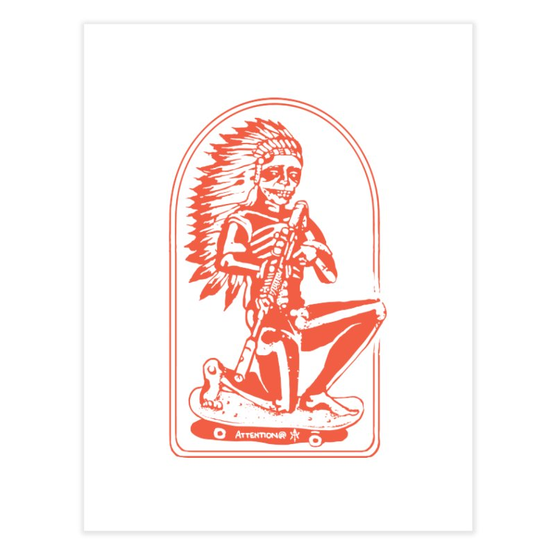 Skater Chief 2 Home Fine Art Print by Attention®