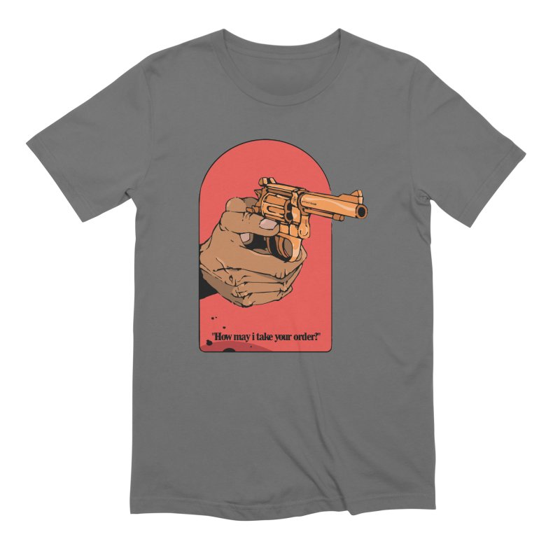 Revolver Men's T-Shirt by Attention®