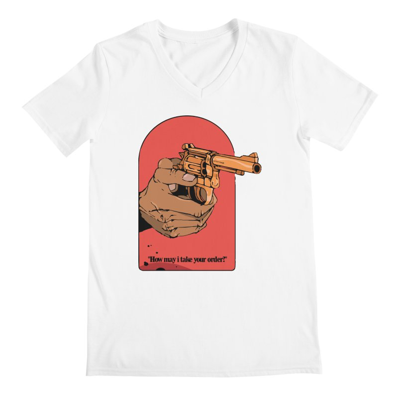 Revolver Men's V-Neck by Attention®