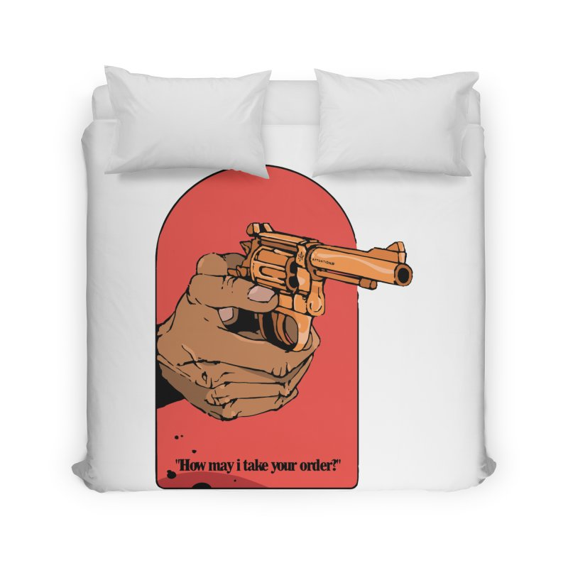 Revolver Home Duvet by Attention®
