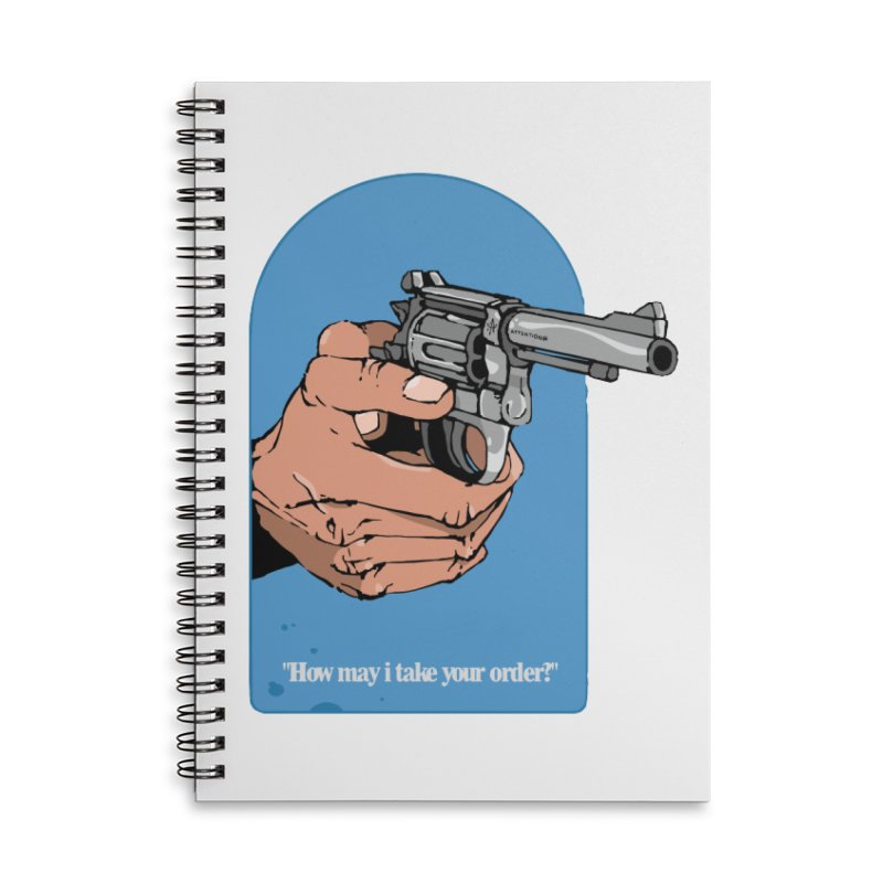 Revolver 2 Accessories Notebook by Attention®