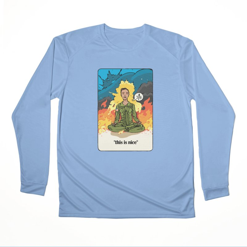 This is Nice Men's Longsleeve T-Shirt by Attention®
