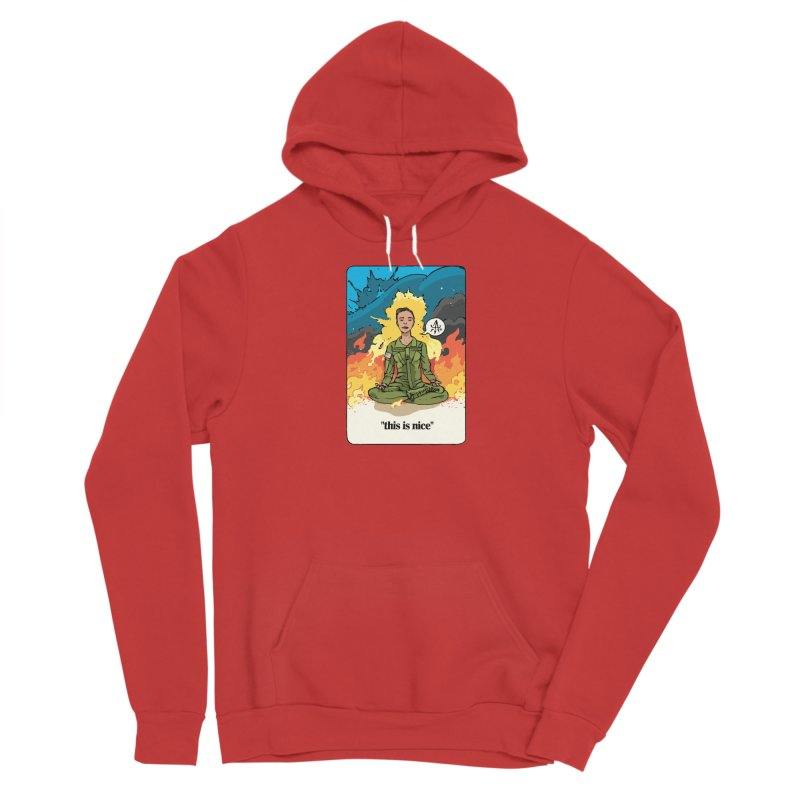 This is Nice Women's Pullover Hoody by Attention®