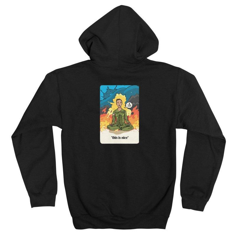 This is Nice Women's Zip-Up Hoody by Attention®