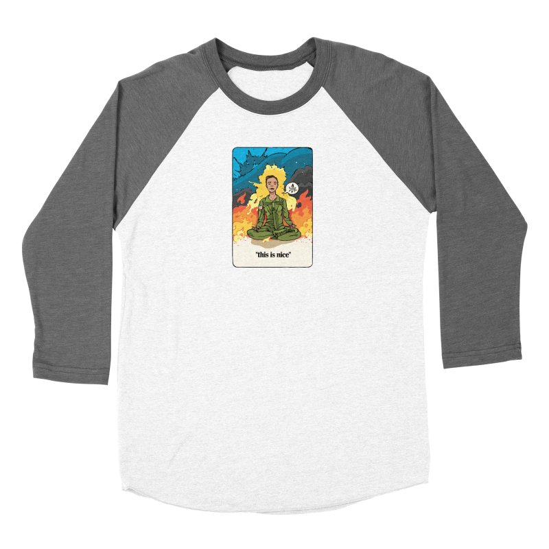 This is Nice Women's Longsleeve T-Shirt by Attention®