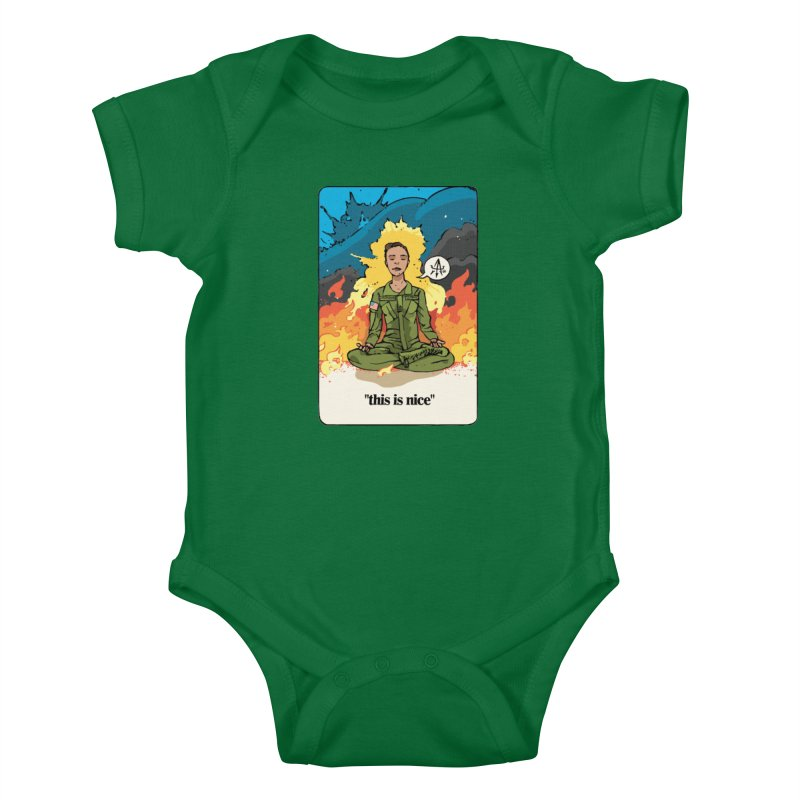 This is Nice Kids Baby Bodysuit by Attention®