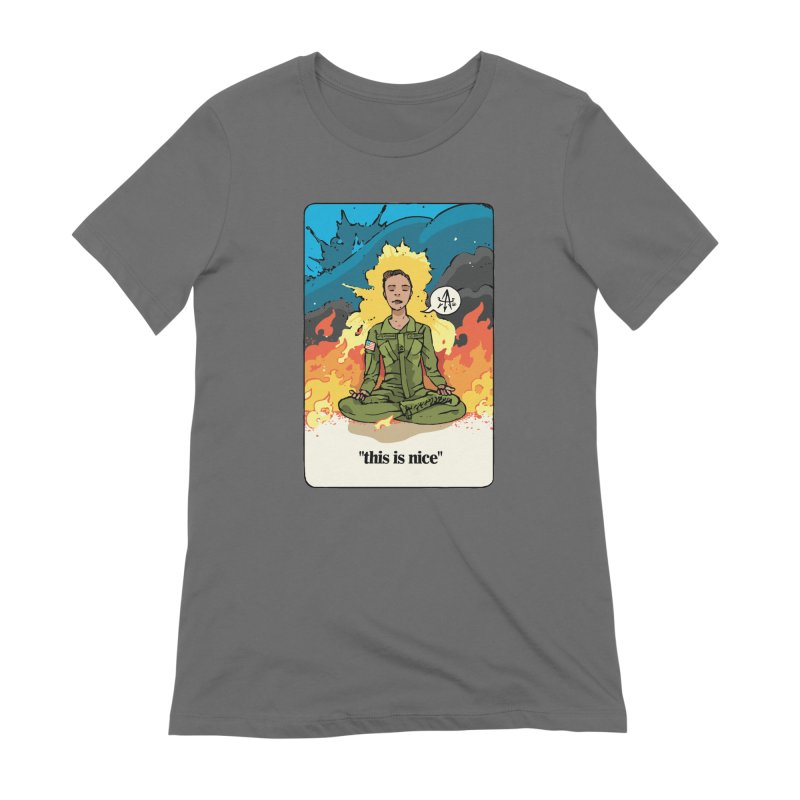 This is Nice Women's T-Shirt by Attention®