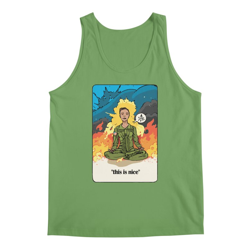 This is Nice Men's Tank by Attention®