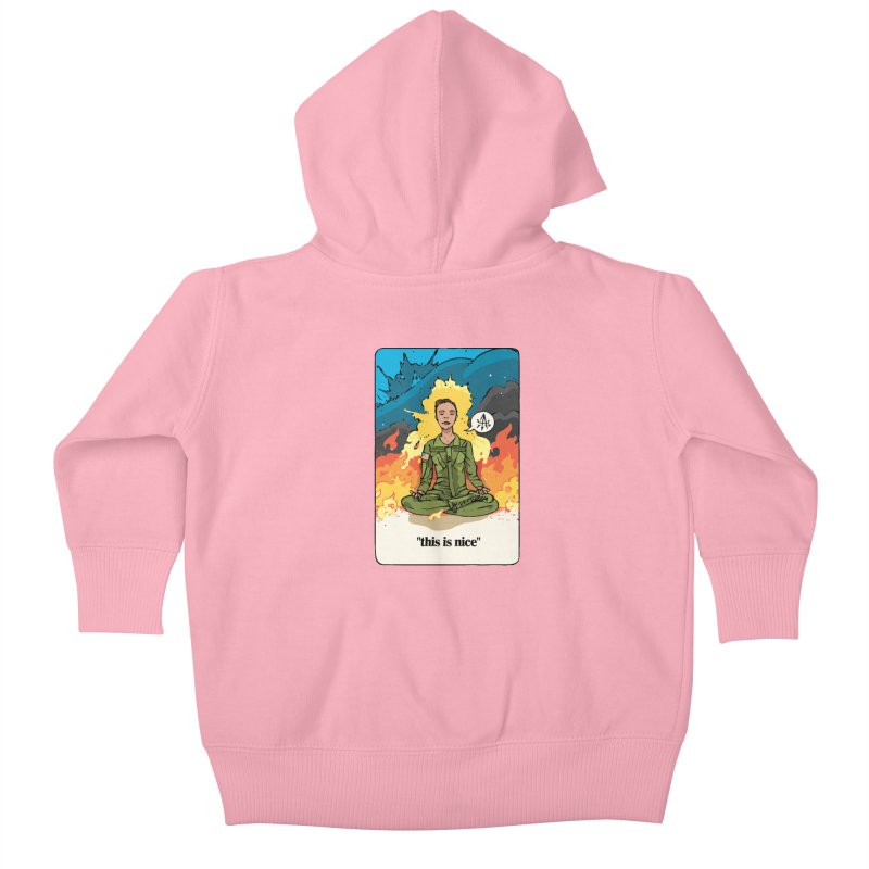 This is Nice Kids Baby Zip-Up Hoody by Attention®